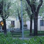 Piazza delle Antiche Repubbliche Marinare in Primavera
